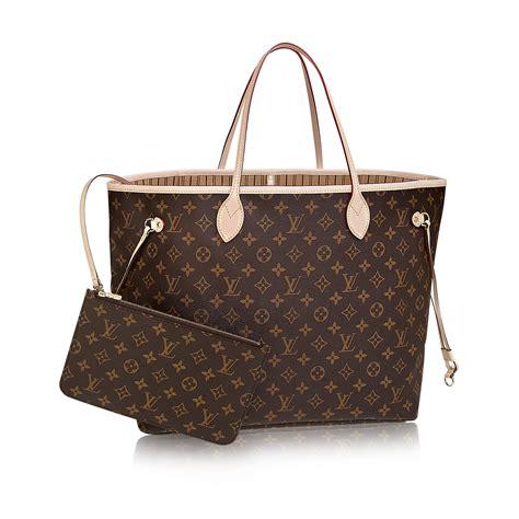 Are Louis Vuitton Bags Handmade - neverfull gm monogram canvas handbags louis vuitton