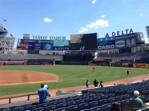 section 115 yankee stadium yankee stadium section 115 new york yankees