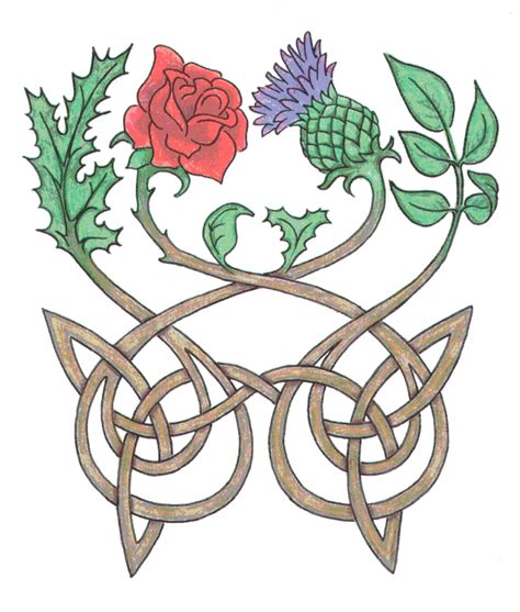 rose and thistle tattoo designs quot and from his grave grew a from hers grew a