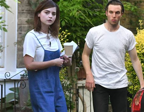 tom hughes death jenna coleman and tom hughes cosy up after being pictured
