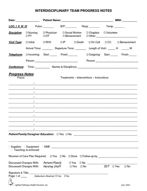 notes social work template 8 best images of printable progress note social work