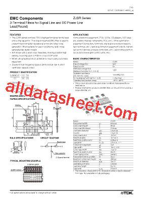 tdk capacitors datasheet zjsr5101 331 datasheet pdf tdk electronics