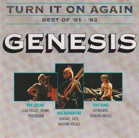 turn it on again genesis genesis turn it on again best of 81 83 1991 lossless