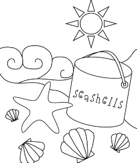coloring pages beach 25 best ideas about beach coloring pages on pinterest