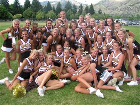 high school cheerleader forgot panties lone peak cheer cheer c 2010