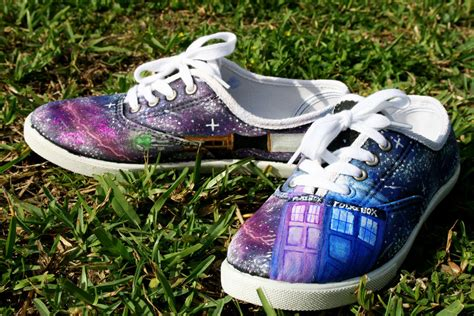 dr who sneakers doctor who shoes by lovelyangie on deviantart