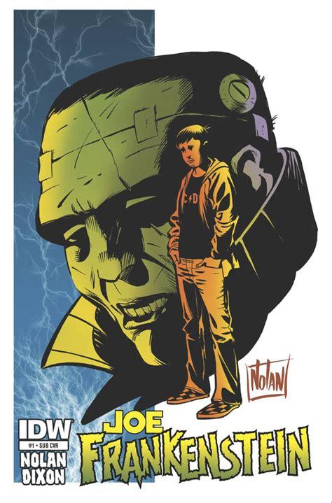 themes in frankenstein volume 1 joe frankenstein 1 subscription cover fresh comics