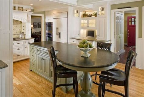 round kitchen island with seating nice decors 187 blog archive 187 multi functional kitchen
