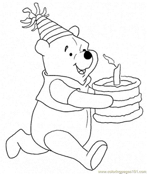 winnie the pooh cake template winnie the pooh 1st birthday coloring page images coloring