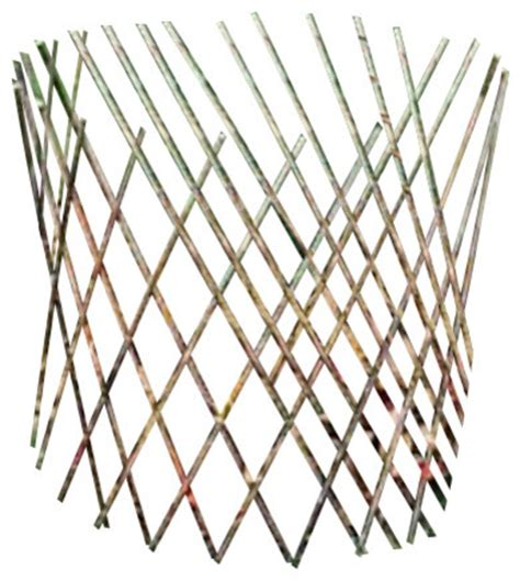 cone trellis willow cone trellis 36 quot h rustic home fencing and