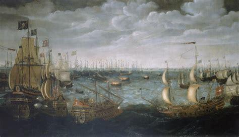 invincibile armada file armada fireships jpg wikimedia commons