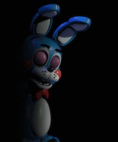bunny bonnie freddys nights at five five nights at freddy s 2 new bonnie gif by geeksomniac