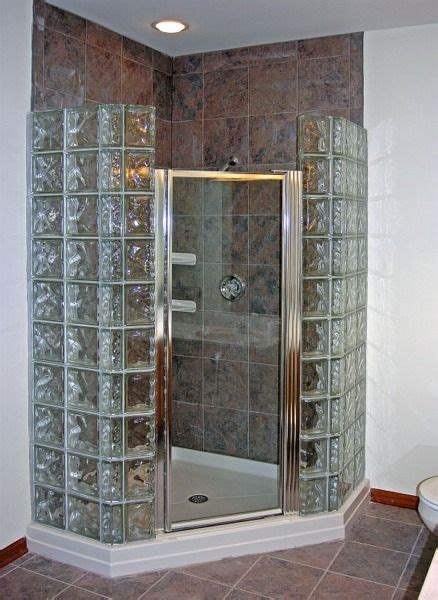 glass block bathroom designs 2018 glass block shower glassblock by doheny gallery of baths showers for the home in 2018