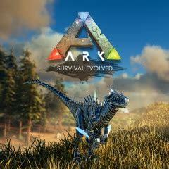 ark: survival evolved bionic raptor skin on ps4 | official