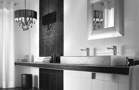 Modern Black And White Bathroom by 20 Bewitching Modern Black Bathrooms Ideas