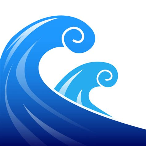 emoji of a wave chords water wave emoji for facebook email sms id 8796