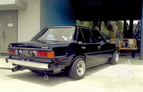 Lu Sen Depan Kiri Toyota foto modifikasi mobil sedan toyota corolla dx desain interior