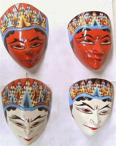kumpulan gambar topeng tradisional gambar topeng seni budaya indonesia