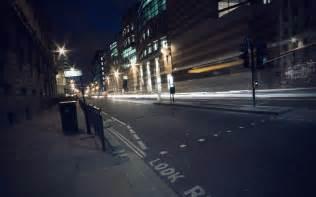 Gotham Lighting Calles Ciudades Urbanas Londres Fondos De Pantalla Gratis