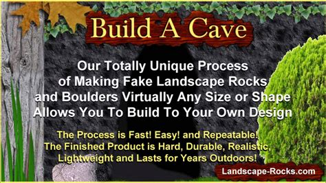 How To Make Your Backyard by How To Make A Cave Build A Backyard Cave