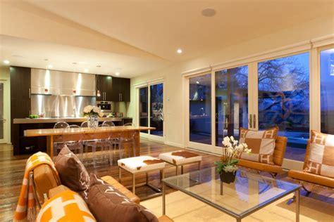 kitchen living room combo 20 open kitchen living room designs ideas design