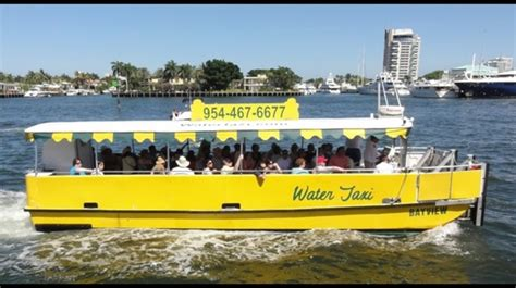 boat taxi fort lauderdale fort lauderdale water taxi offers reduced summer prices