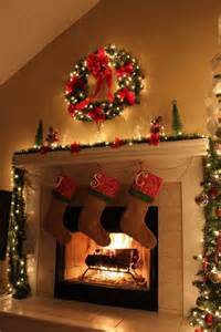 best 25 christmas fireplace decorations ideas on