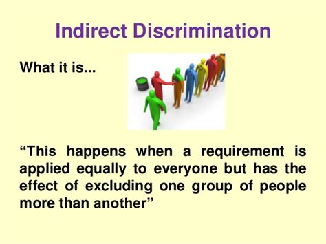 pattern discrimination definition lecture 5 equality and diversity the equality act 2010