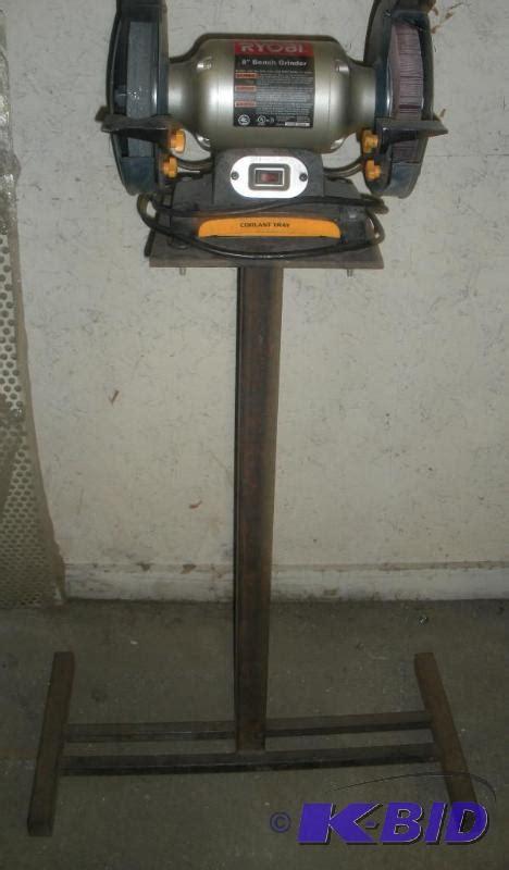 ryobi bench grinder accessories ryobi bgh827 bench grinder on stand motorcycle trailer