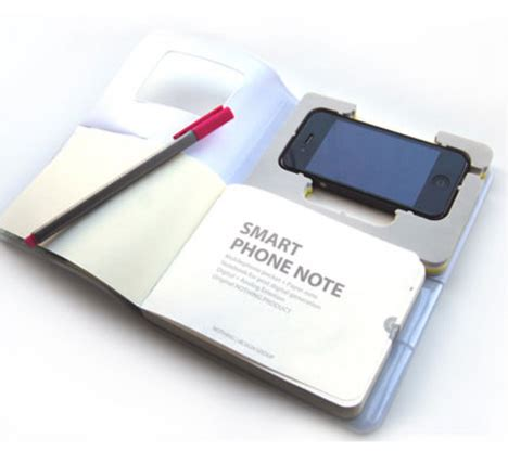 How To Make Paper Gadgets - meets new paper notebook doubles as iphone