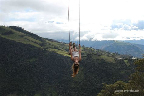 del swing casa del arbol a magic swing in ecuador
