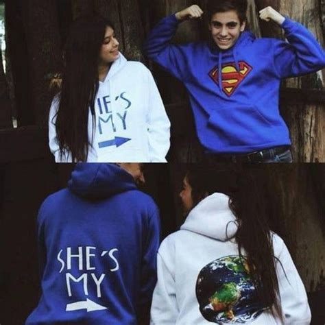 Boyfriend And Matching Jumpers Clothing Sweaters Sweatshirts Couples