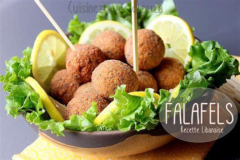 recette de cuisine libanaise falafels libanaises aux pois chiches recettes faciles