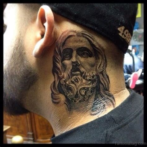religious neck tattoo designs 27 spiritual jesus neck designs