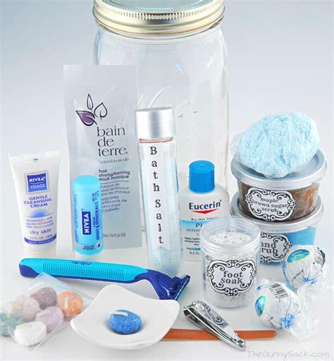 spa in a jar gifts in a jar
