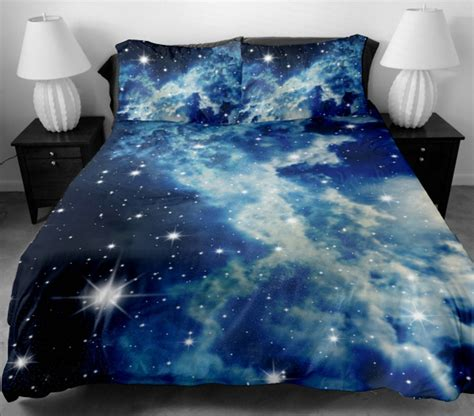 Galaxy Bedding Set by Sky Design Space Galaxy Nebula Sky Clouds