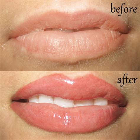 tattooed lip liner permanent makeup and microblading