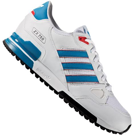 Adidas Zx 750 Blue White adidas originals zx 750 herren sneaker white blue