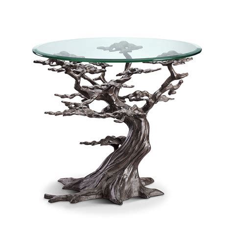 Table Tree by Cypress Tree End Table