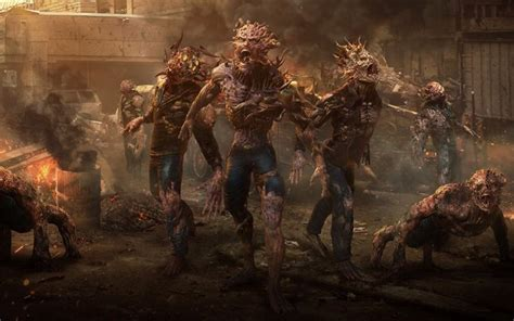 wallpapers zombie attack demons monsters