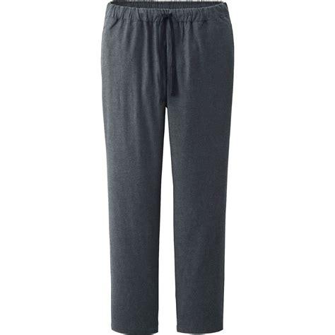 Uniqlo Mens Sweatpants Grey Original uniqlo flannel in gray for gray lyst