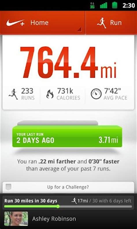 running apps for android nike running app for android now available for redmond pie