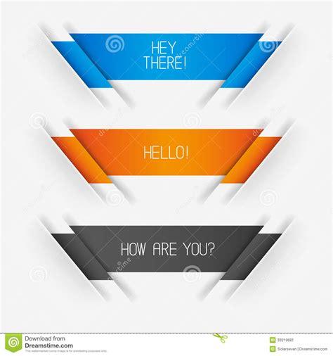 design banner vector vector banner designs stock image image 33219681