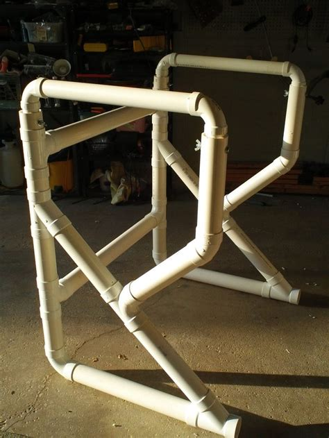 table pvc pvc pipe projects my pvc pipe table frame office walkers pvc pipe table