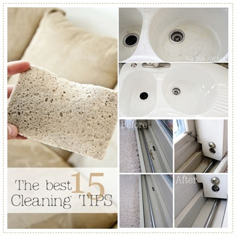 cleaning ideas the 15 best cleaning tips