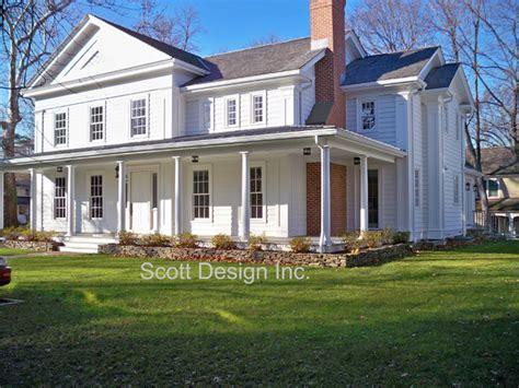 revival farmhouse new 1850 s revival farm house farmhouse exterior new york by design inc