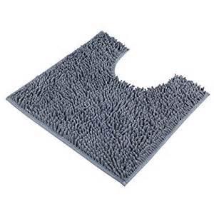 vdomus contour bath rug soft shaggy u shaped
