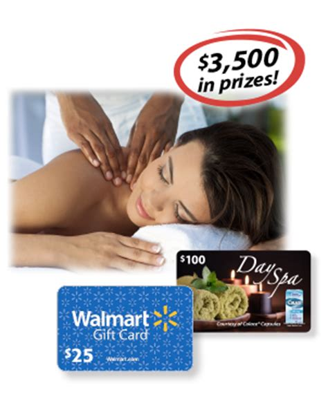 Spa Gift Cards At Walmart - free 25 walmart gift card giveaway 120 winners 5 grand prize 100 spa card winners