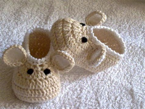 baby slippers crochet crochet baby shoes booties slippers mouse pattern 251