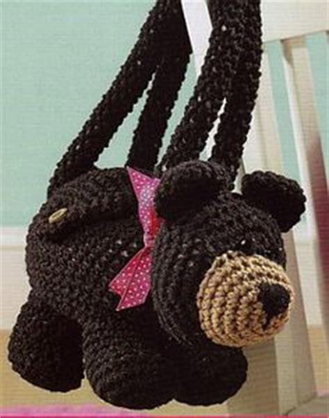 crochet overnight bag pattern cute critter purses to crochet leisure arts crochet